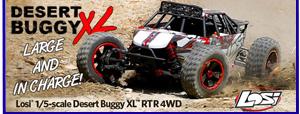 Modelsport UK Losi DBXL 1:5 4WD Desert Buggy XL RTR LOS05001C