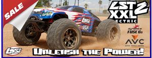 Modelsport UK Losi 1/8 LST XXL-2 4WD Electric RTR with AVC LOS04004I