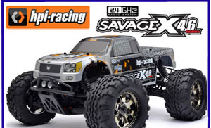Modelsport UK HPI Savage X 4.6 GT-3 RTR 2.4GHz 109083