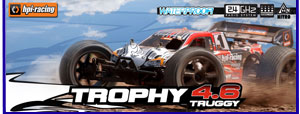 Modelsport UK HPI Trophy 4.6v2 Truggy RTR 107014