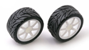 Image Of Associated RC18 R Pre Mounted Wheels/tyres