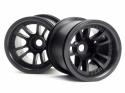 HPI Split 5 Truck Wheel (black/2pcs)