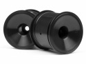 HPI Dish Wheel Black (2.2in/2pcs)