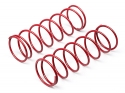 Image Of Hot Bodies Big Bore Shock Spring (red/68mm/81gf/2pcs)