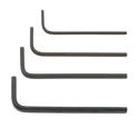 Image Of Associated Allen Wrench Set .50, 1/16, 5/64 & 3/32
