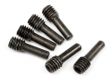 HPI Screw Shaft M4x2.5x12mm (black/6pcs)