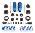 Image Of Associated Factory Team Blue Rear Threaded Shock Kit - RC18T