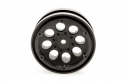 Image Of Axial 1.9 8 Hole Beadlock Wheels (2) - Black