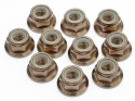 Image Of Edit M5 Flanged Nut(smoke)(10pcs)