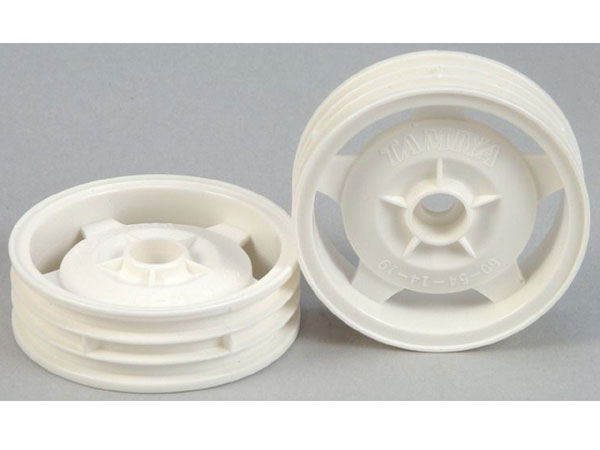 Tamiya 2WD Front Star Dish Wheels for 58485 (2) 0445167