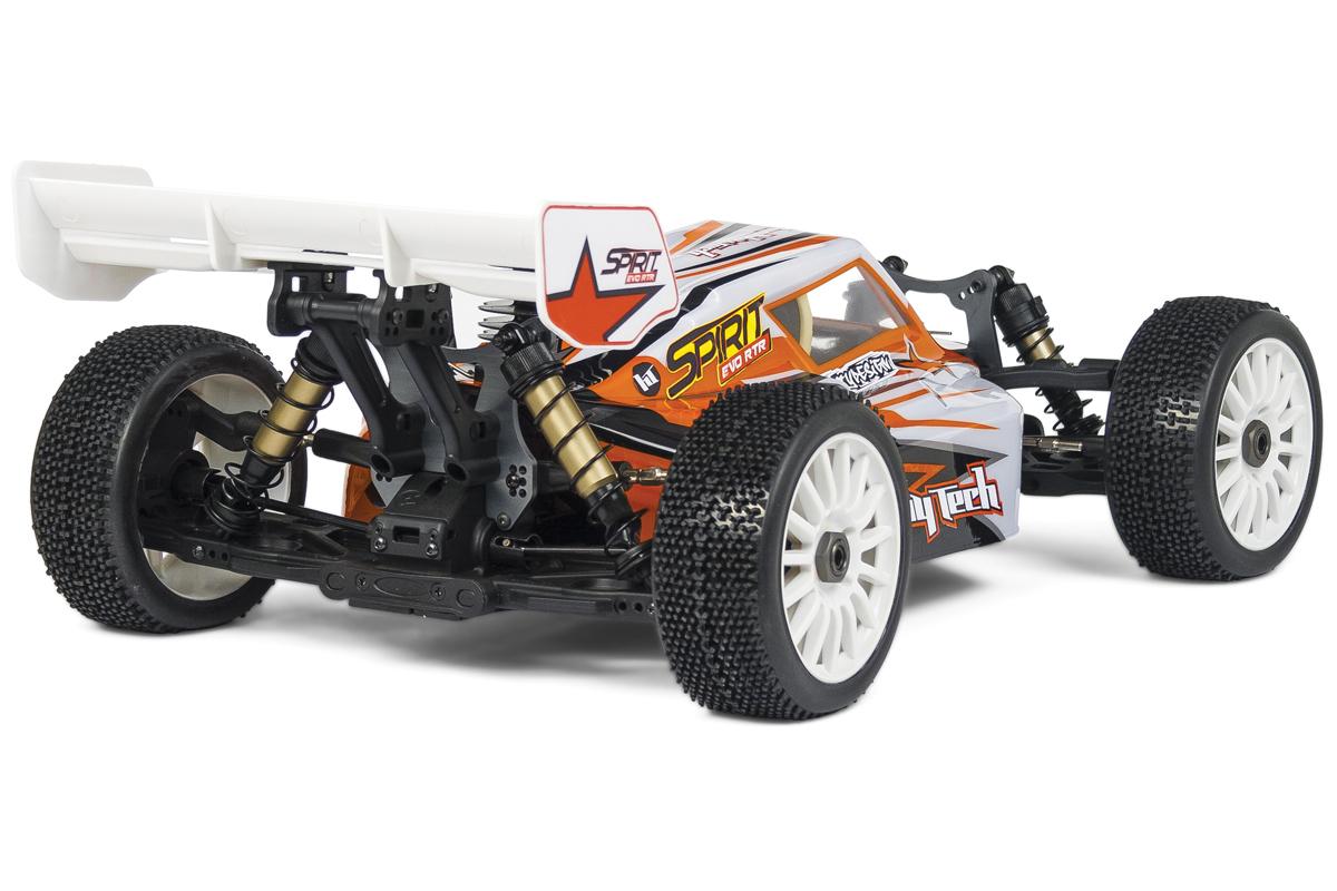 HobbyTech Spirit Evo 1/8th 4WD RTR Nitro Buggy Alpha Engine (Orange)  HT-1-SPIRIT-EVO-RTR