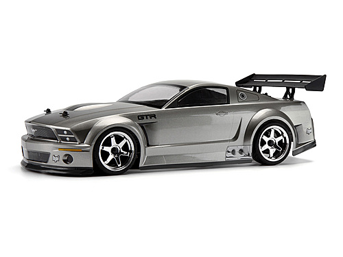 HPI Ford Mustang Gt-r Body (painted/gunmetal/200mm) 100474