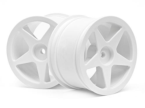 HPI Ultra 5 Wheel White (2.2in/60x38mm/2pcs) 100868
