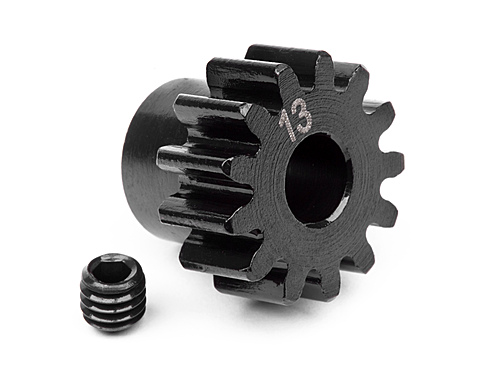 HPI Pinion Gear 13 Tooth (1m/5mm Shaft) 100912