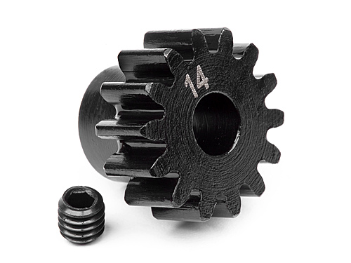 HPI Pinion Gear 14 Tooth (1m/5mm Shaft) 100913