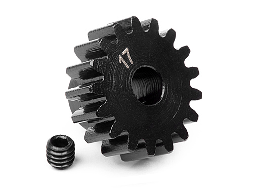 HPI Pinion Gear 17 Tooth (1m/5mm Shaft) 100916