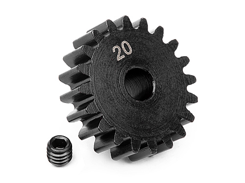 HPI Pinion Gear 20 Tooth (1m) 100919