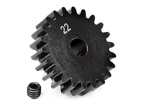 HPI Pinion Gear 22 Tooth (1m) 100921