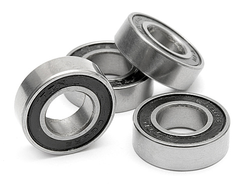 Image Of HPI Sealed Bearings 8x16mm - Discontinued - Use B8165