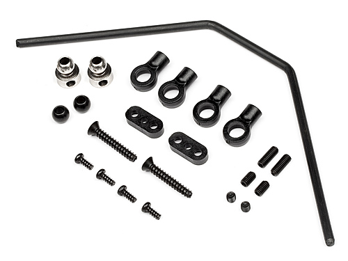HPI Front Roll Bar Set 3mm 101163