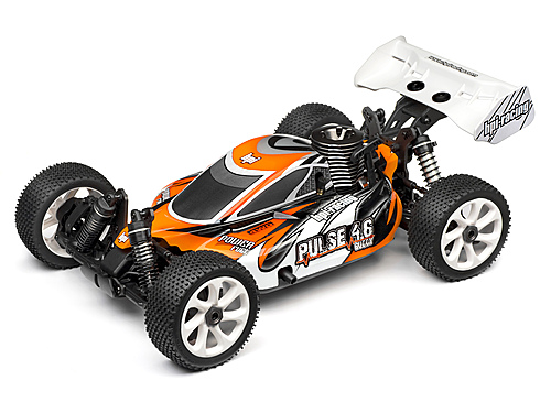 HPI Pulse Painted Body With Decals 101494