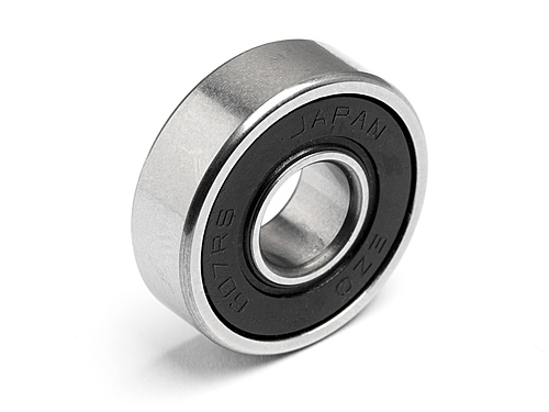 HPI Front Bearing 7x19x6mm 101586