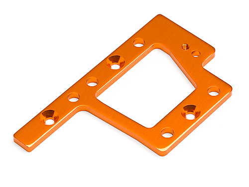 HPI Centre Gearbox Mounting Plate Trophy Truggy Flux (orange) 101801
