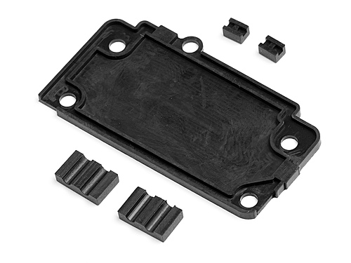 HPI Bullet Flux Battery And Receiver Box Rubber Waterproofing Parts 101829