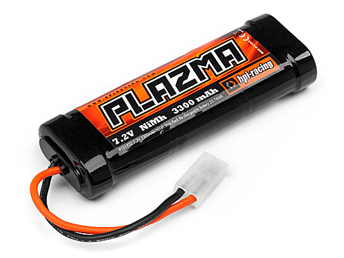 Image Of HPI Plazma 7.2v 3300mah Nimh Stick Pack Re-chargeable Battery