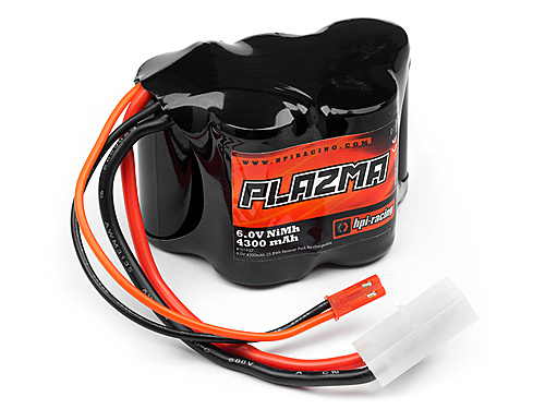 HPI Plazma 6.0v 4300mah Nimh Baja Receiver Pack Re-chargeable Battery 101937