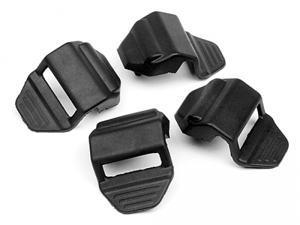 HPI Rubber Strap (black/4pcs) 102361