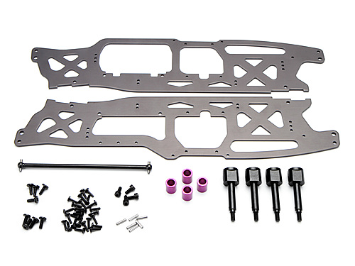 HPI Wheelbase Conversion Set For Savage Flux (6061) 102404