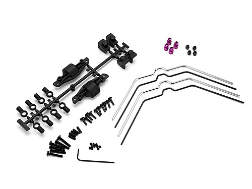 HPI Sway Bar Set (front/rear/savage X) 102538