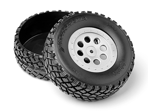 HPI Plastic Truck Bed Tires (2pcs) 103773