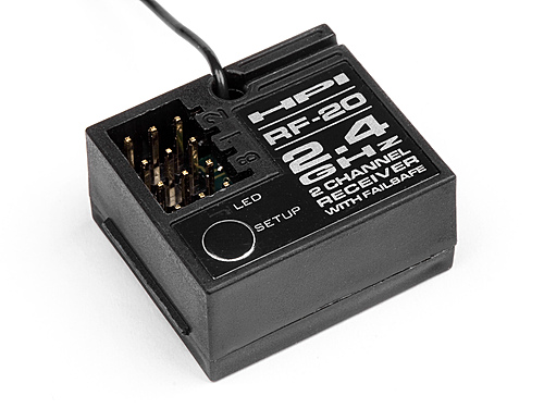 Image Of HPI Rf-20 Receiver (2.4ghz /2ch)