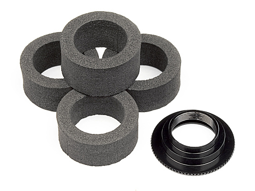 HPI Servo Saver Foam (4pcs) With Adjust Nut 104123