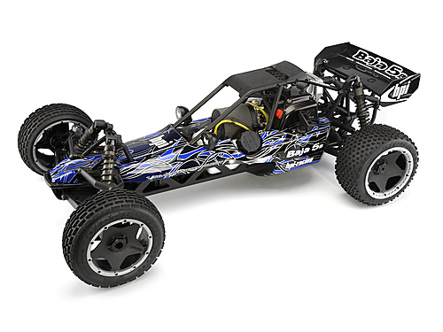 HPI Baja 5b Buggy Tribal Painted Body (blue) 104225