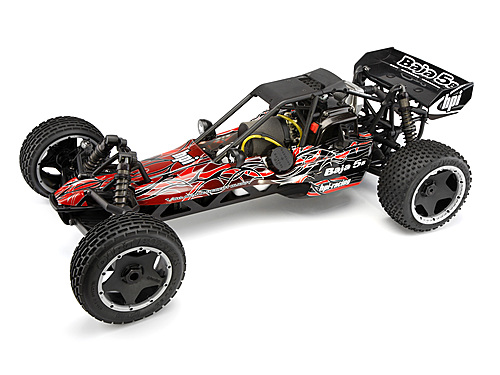 HPI Baja 5b Buggy Tribal Painted Body (red) 104230