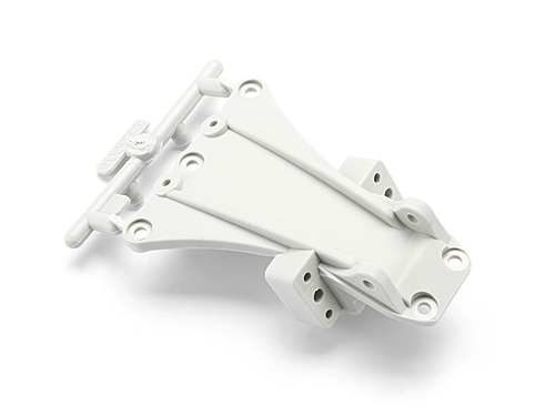 HPI High Performance Front Chassis Brace (white) 104664