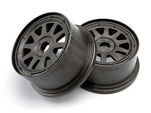 HPI Tr-10 Wheel Gunmetal (120x65mm/-10mm Offset) 104976