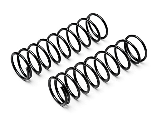 HPI Shock Spring 13x57x1.4mm 9.5coils (black/2pcs) 105035