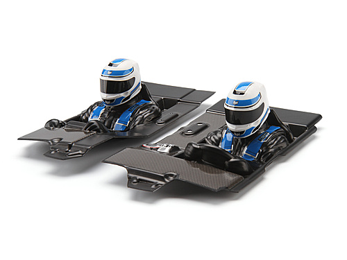 HPI Inner Body Set For Mini-trophy (clear) 105088