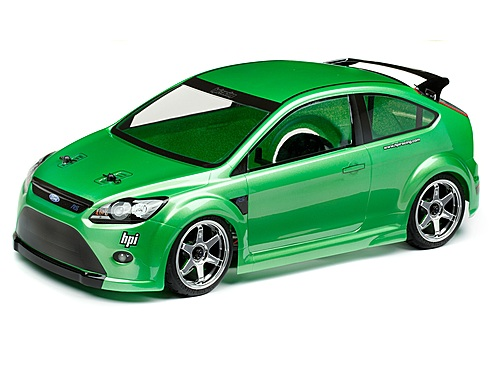 Hpi Ford Focus Rs Body 200mm 105344