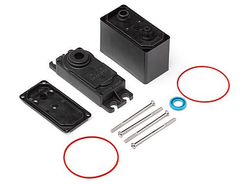 Electronics NEW 102613 HPI Racing sfl-30mg Digital Servo Case Set