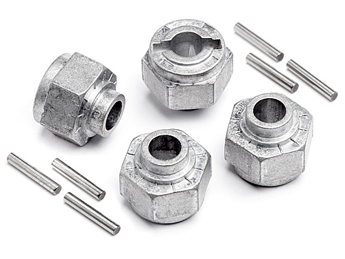HPI Hex Wheel Hub 12mm (4pcs) 105629