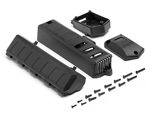 HPI Battery Cover/receiver Case Set 105690