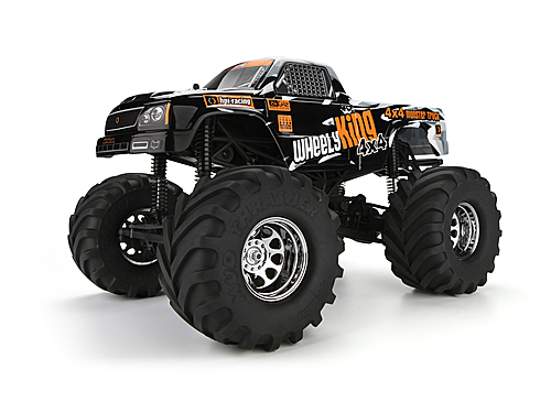 HPI Mini Gt-1 Truck Painted Body (black/gray) 107322