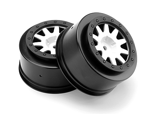 HPI Mk.10 V2 Wheel White (4.5mm Offset/2pcs) 106204