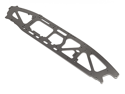 HPI Tvp Chassis Right 4mm (super 5sc Flux/gray) 106264