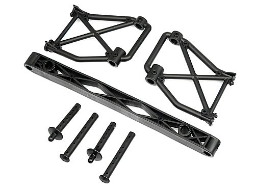 hpi side body mount set 106314